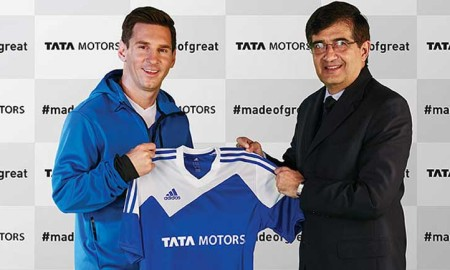 Lionel Messi Tata Motors Global Ambassador