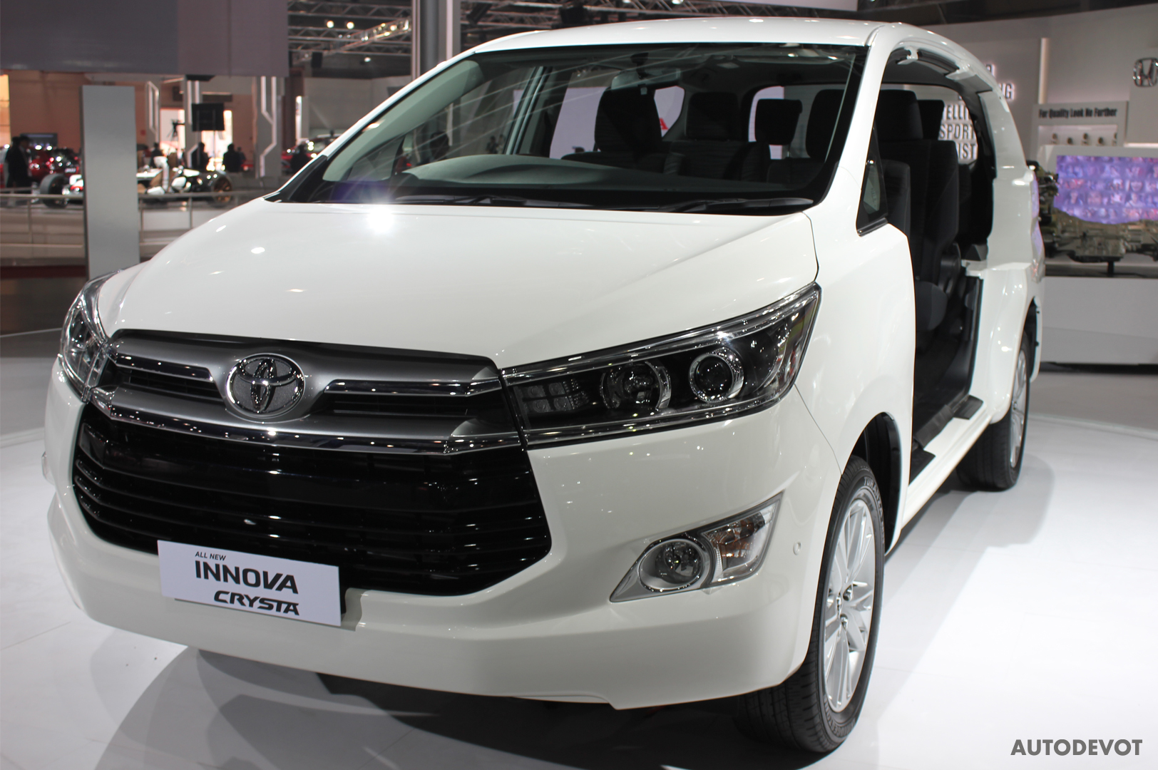 toyota innova crysta petrol to be available soon - autodevot