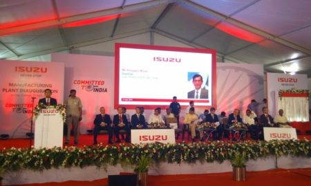 Isuzu inaugurates Rs 3000 Crore facility