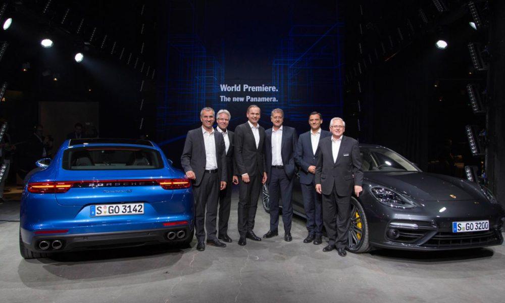2017 Porsche Panamera Unveiled