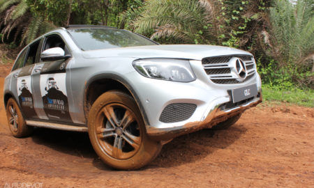 Mercedes-Benz GLC off-road