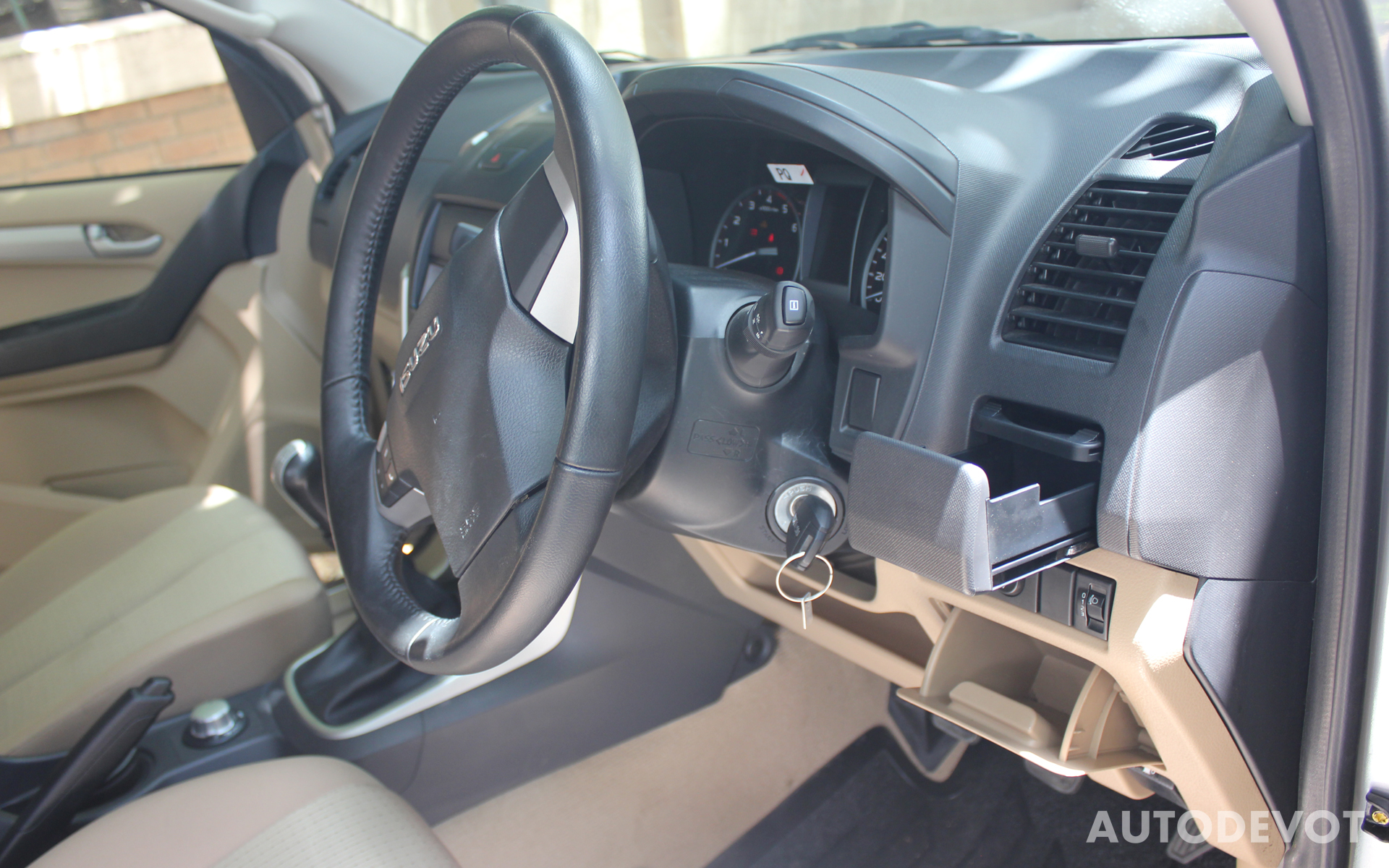 Isuzu D-Max V-Cross Interior