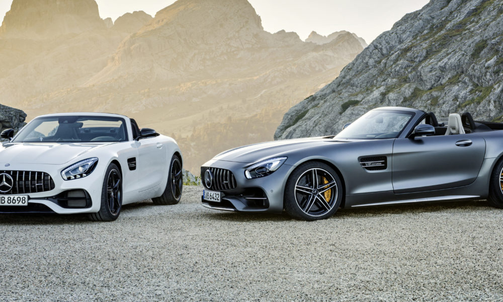 AMG GT  Roadster and AMG GT C Roadster