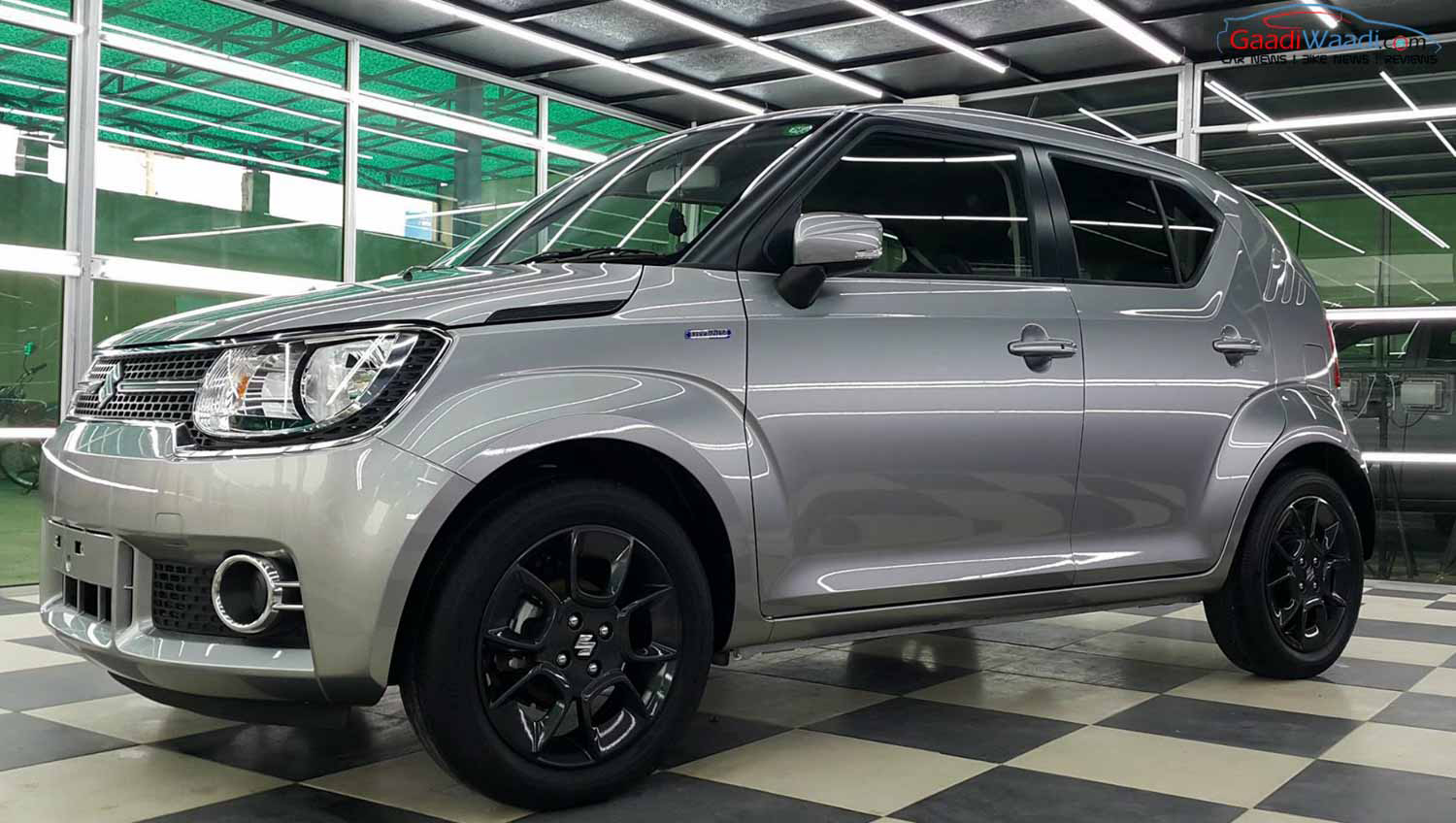 Maruti Suzuki Ignis production version spotted - Autodevot