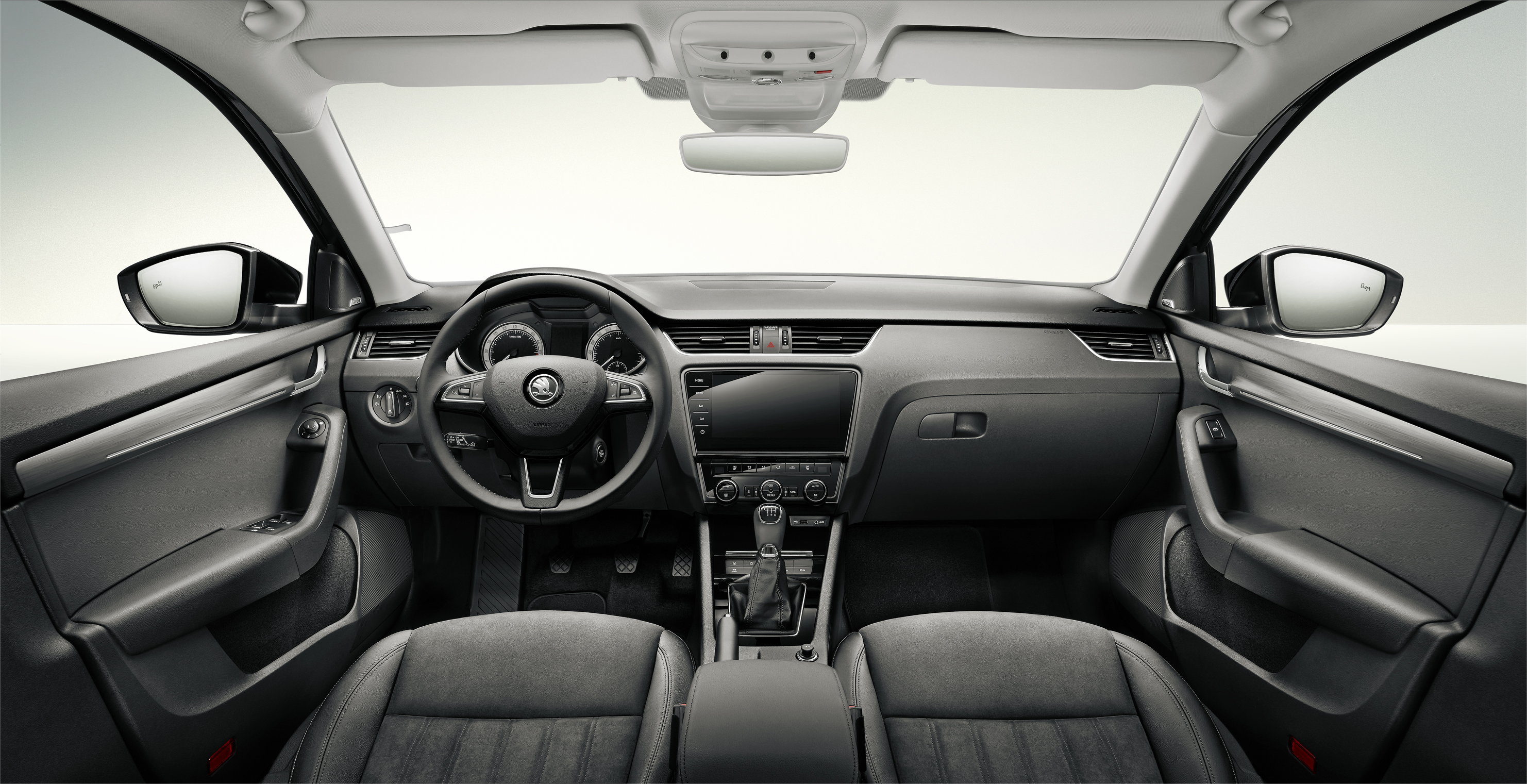 2017 skoda octavia interiors revealed autodevot for Skoda octavia interior