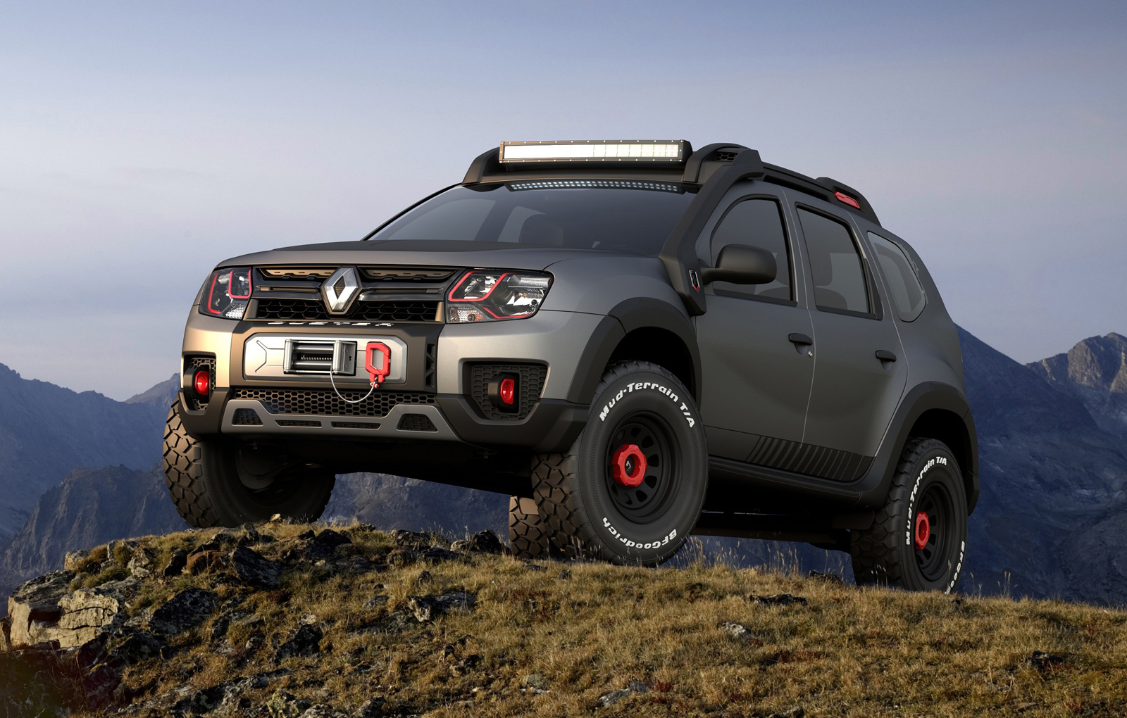 renault duster extreme concept unveiled autodevot. Black Bedroom Furniture Sets. Home Design Ideas
