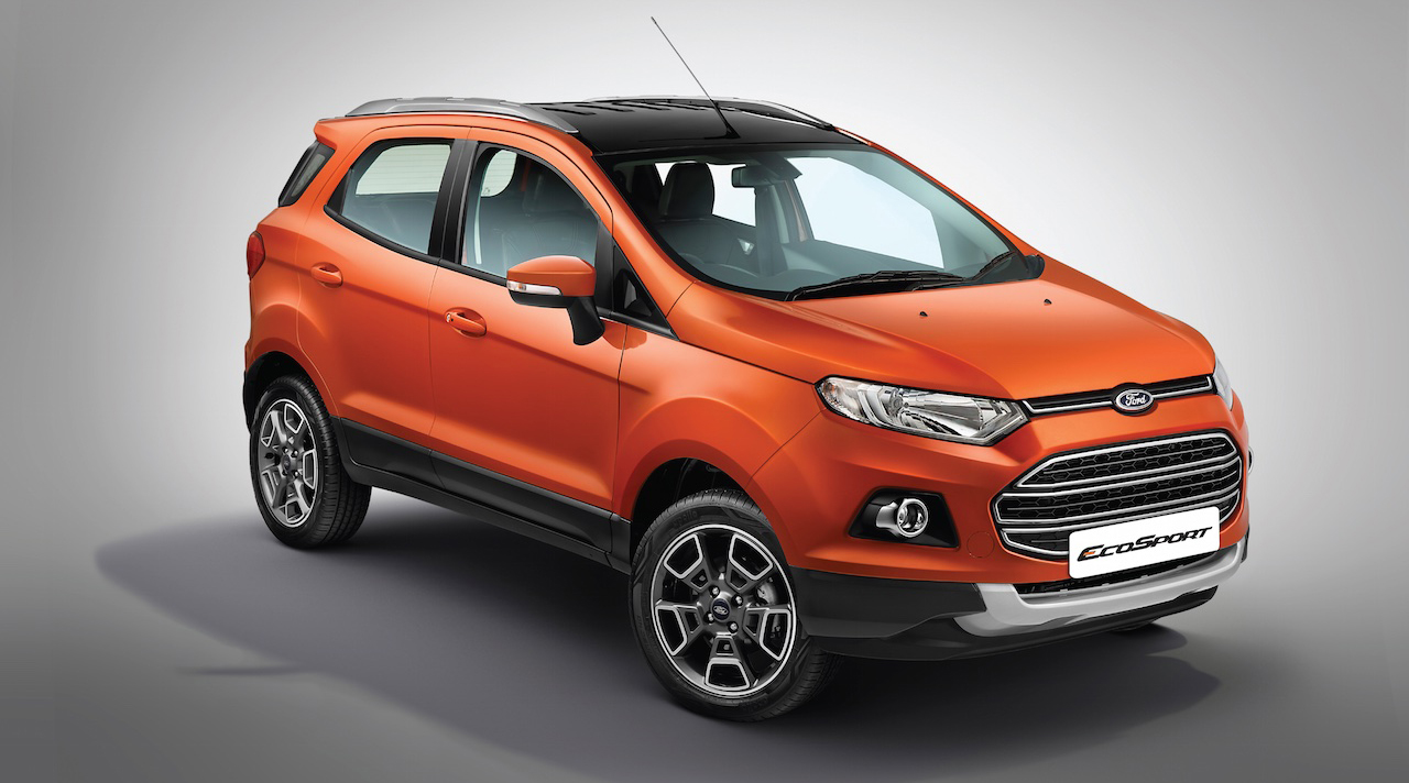 ford ecosport platinum edition launched at rs lakh autodevot. Black Bedroom Furniture Sets. Home Design Ideas
