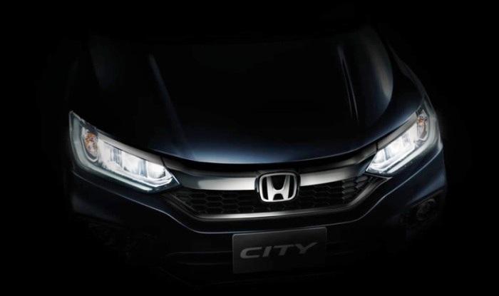 2017 Honda City Facelift Teaser