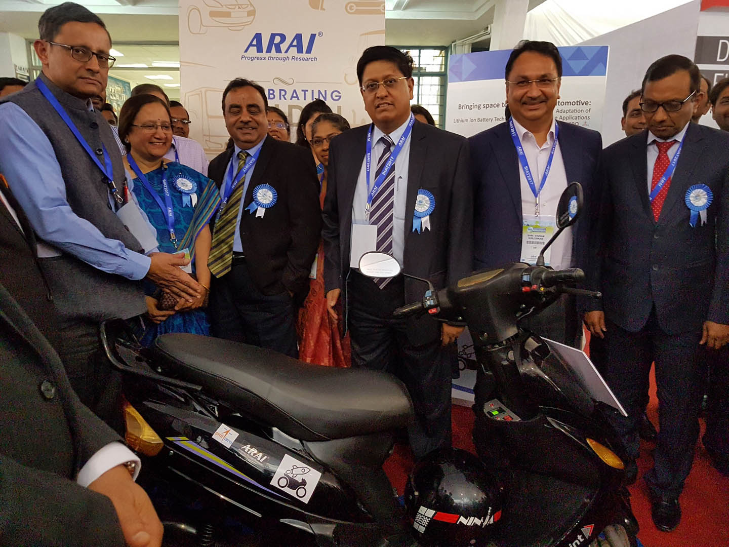 ARAI-ISRO-electric-scooter