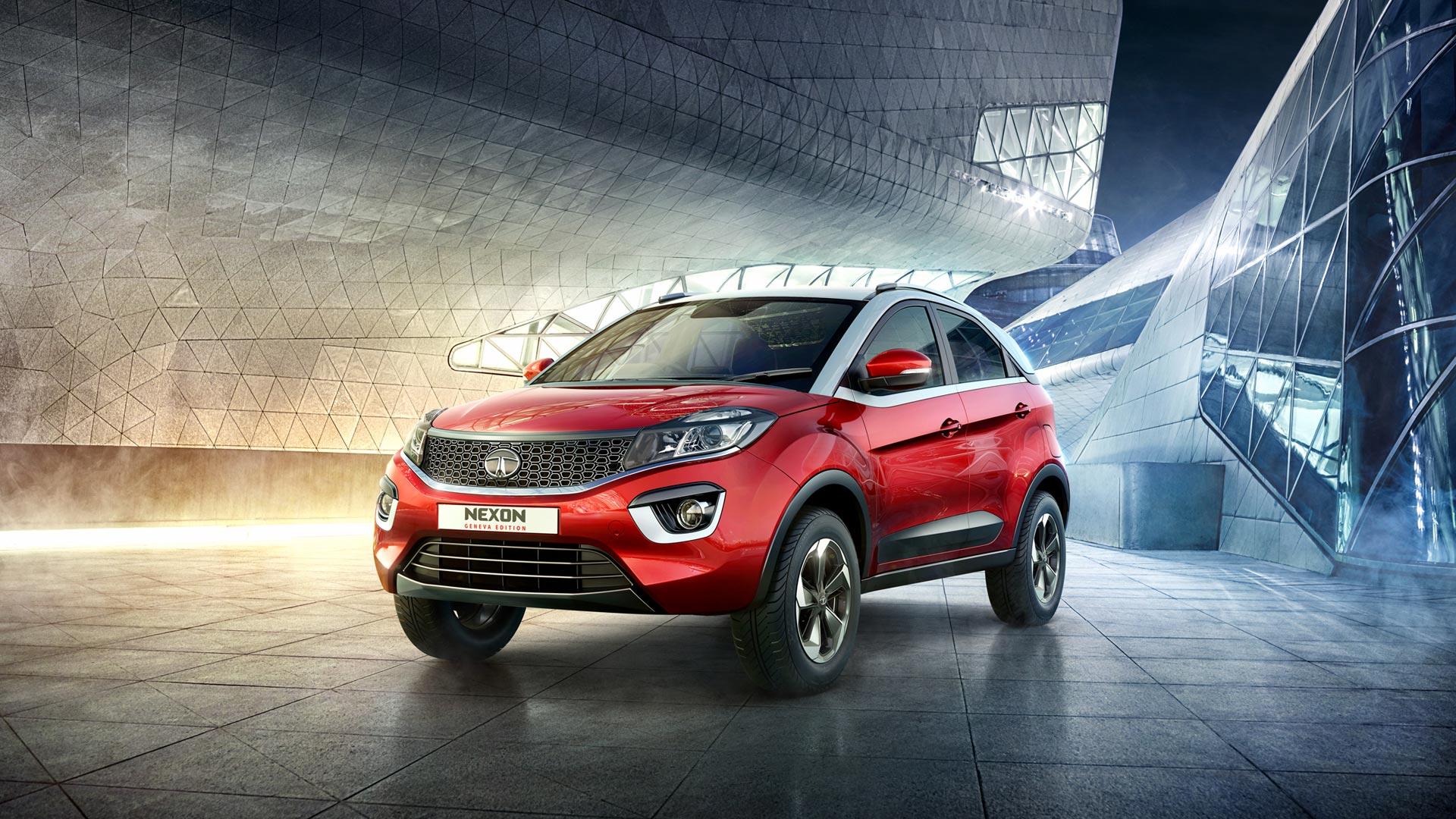 Tata Nexon Geneva Edition Unveiled Autodevot