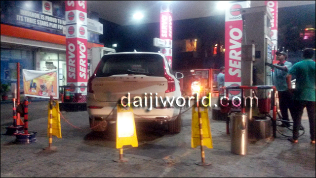 Volvo Xc90 T8 Excellence Filled Up With Diesel In Mangaluru