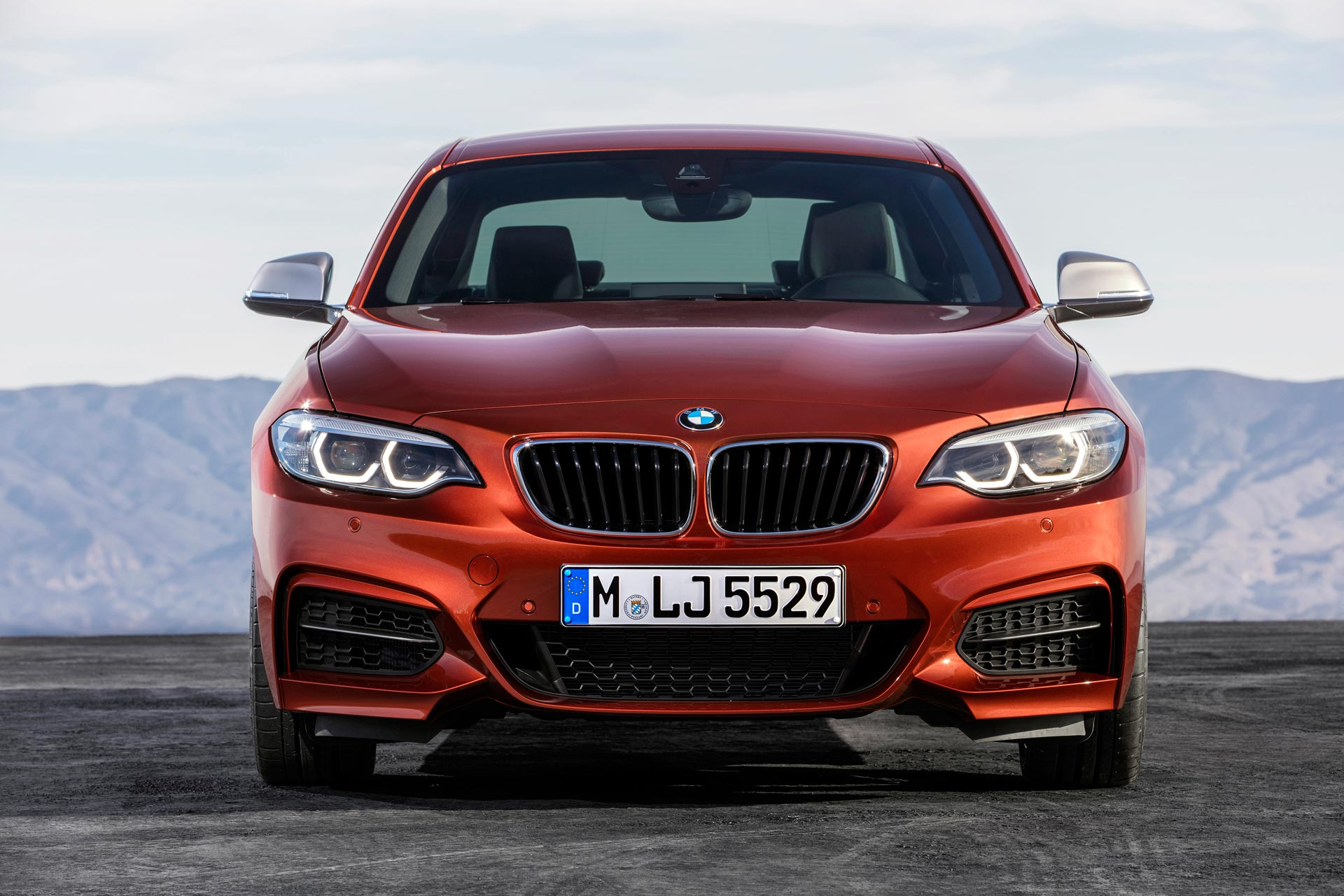 Bmw 2 series coupe and convertible facelift unveiled autodevot - Bmw 2 series coupe xdrive ...