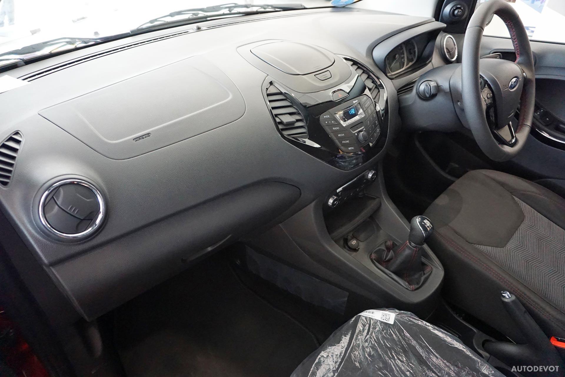 Ford Figo Sports Edition Interior 2