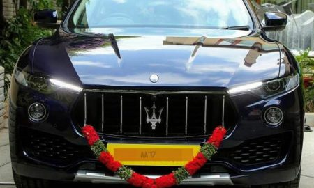 India's-First-Maserati-Levante-Bengaluru