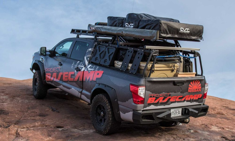 nissan titan xd project basecamp for overlanding. Black Bedroom Furniture Sets. Home Design Ideas