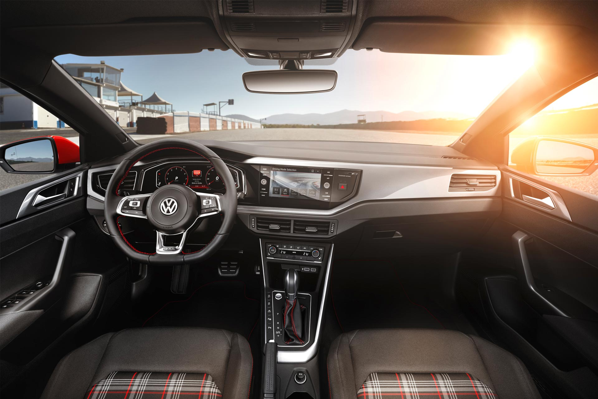 6th-gen-Volkswagen-polo-GTI-interior