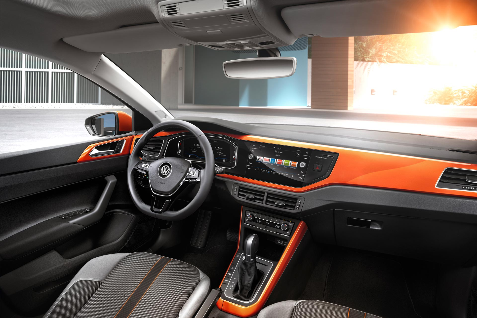 6th-gen-Volkswagen-polo-interior