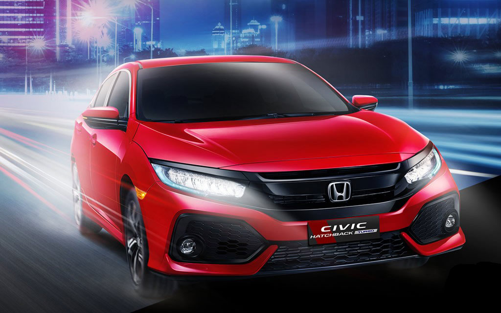 honda civic hatchback turbo 1 5 launched in indonesia. Black Bedroom Furniture Sets. Home Design Ideas