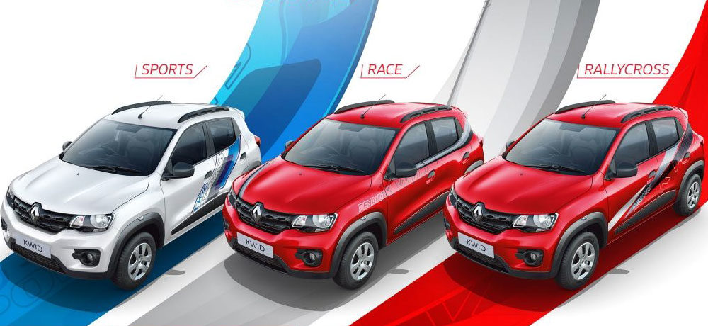 """Renault Kwid """"Live for More"""" is now a Collection - Autodevot"""