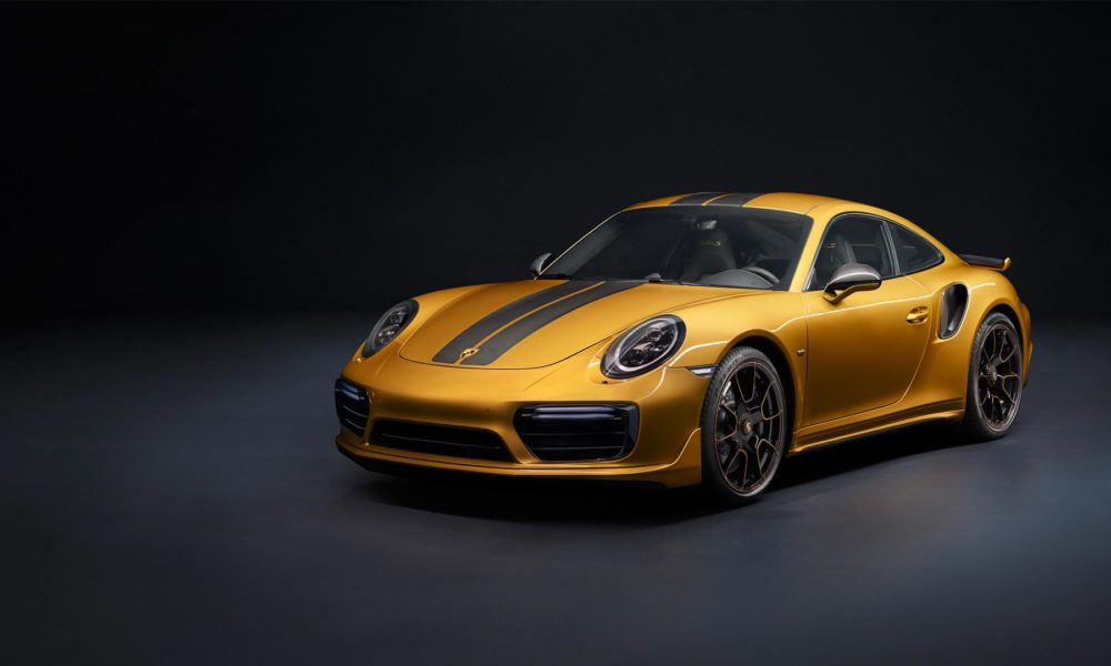 Porsche 911 Turbo S Exclusive Series Gets Gold Finish Amp More Power Autodevot