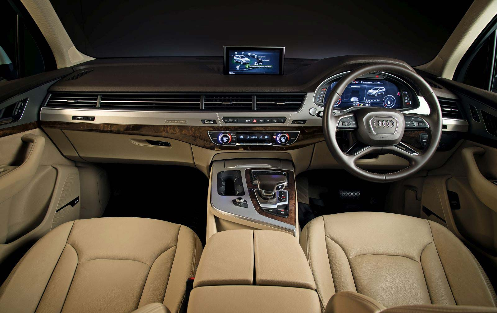 Indian Audi Q7 Interior Www Pixshark Com Images