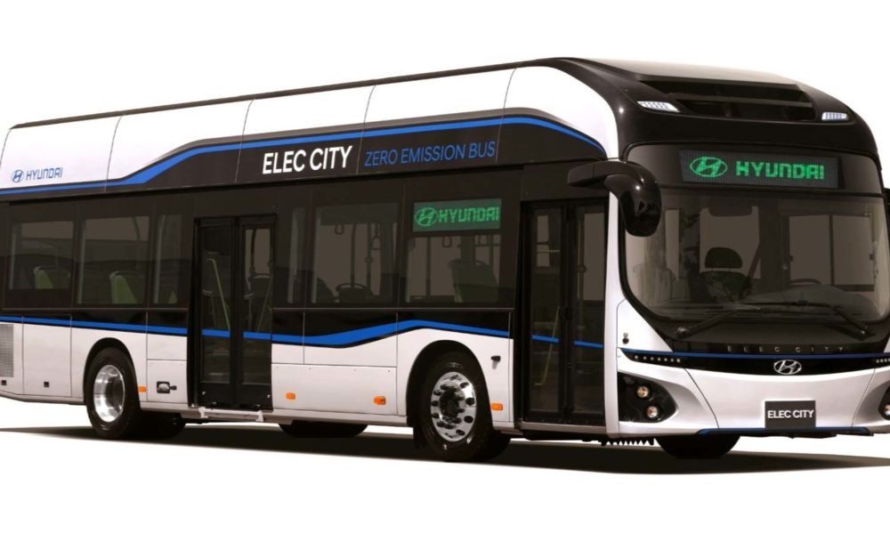 hyundai says electric buses are the future of public transportation autodevot. Black Bedroom Furniture Sets. Home Design Ideas