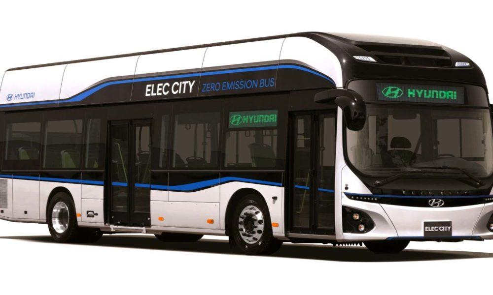 hyundai says electric buses are the future of public transportation autodevot. Black Bedroom Furniture Sets. Home Design Ideas