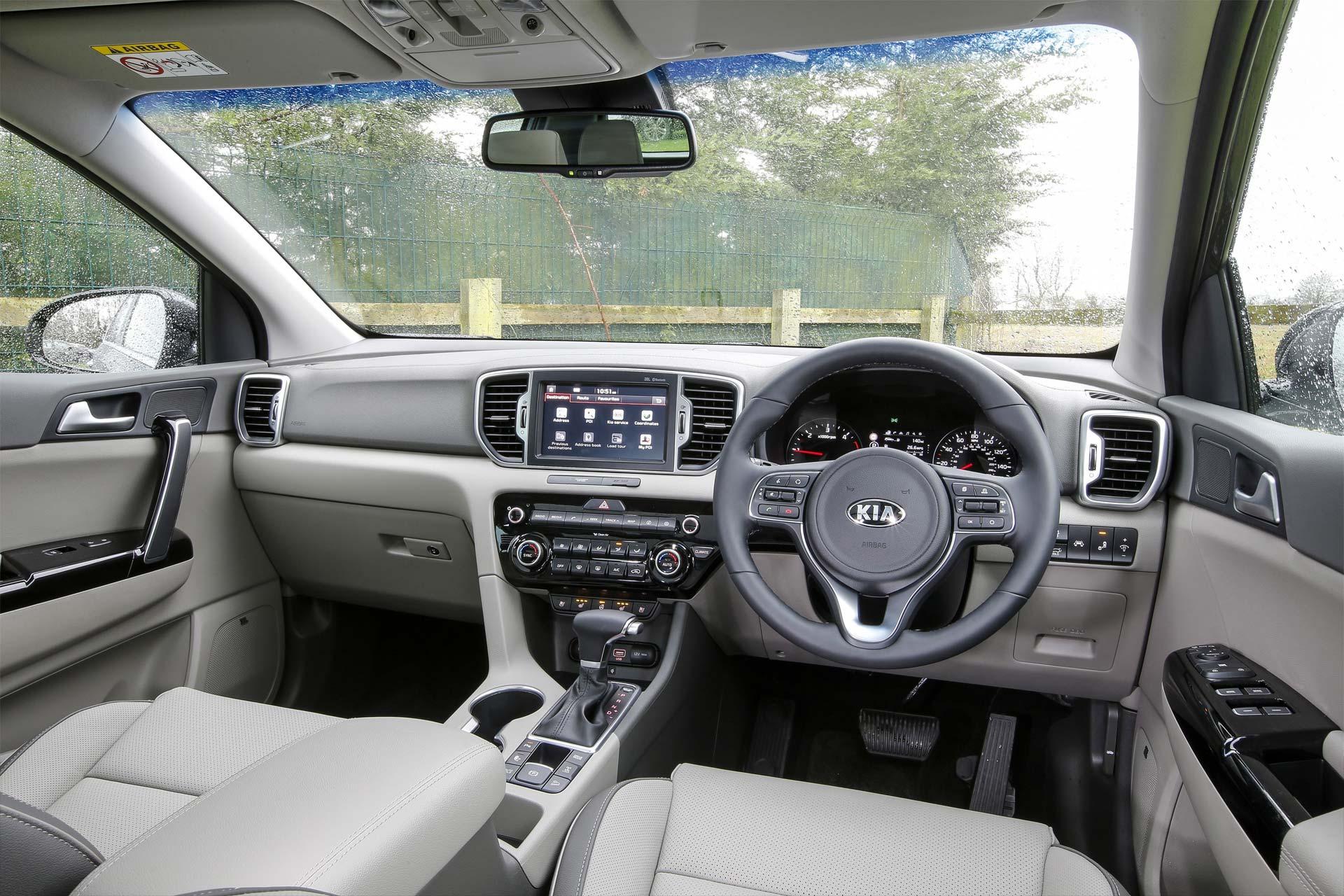 100 kia sportage interior 2015 kia sportage cockpit for Interior kia sportage