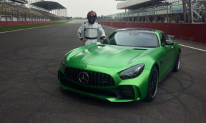 Mercedes-AMG GT R-Buddh International Circuit