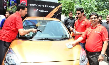 Nissan-India-waterless-car-cleaning