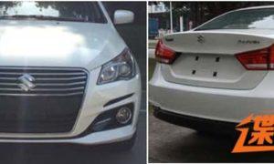 Suzuki-Alivio-facelift-China