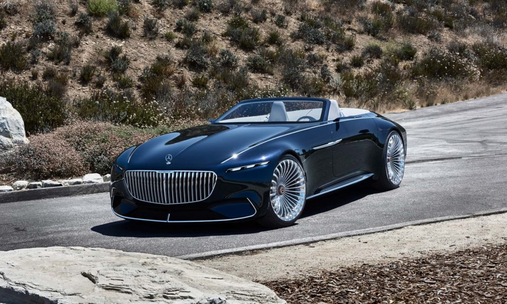 vision mercedes maybach 6 cabriolet looks gorgeous at the