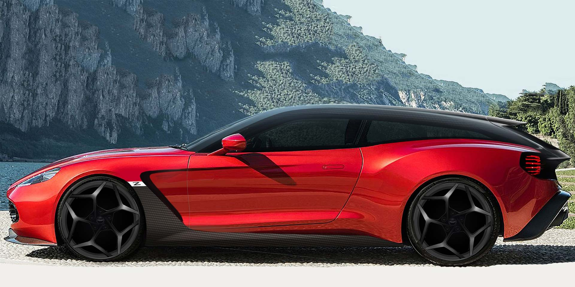 Speedster And Shooting Brake To Join Vanquish Zagato