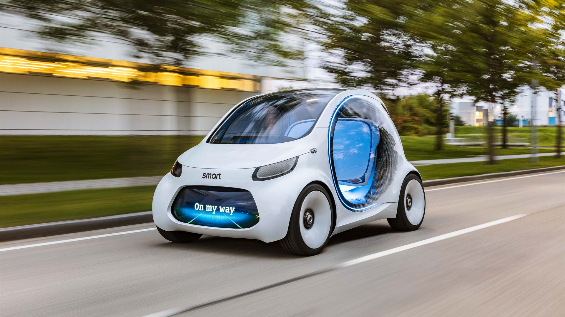 Smart Vision Eq Fortwo Is The Future Of Car Sharing