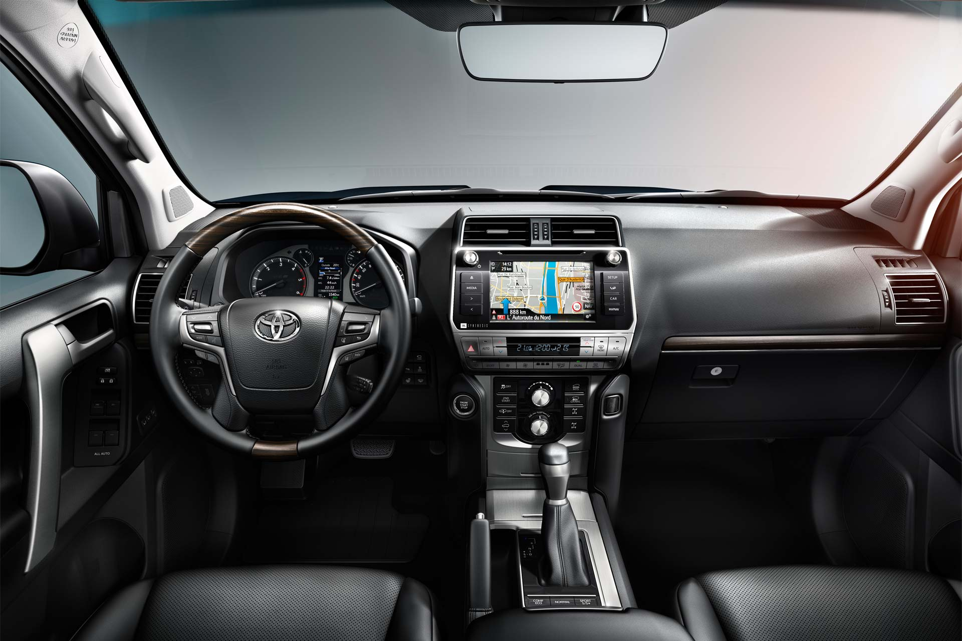 2018 Toyota Land Cruiser Prado Gets Enhanced On Board
