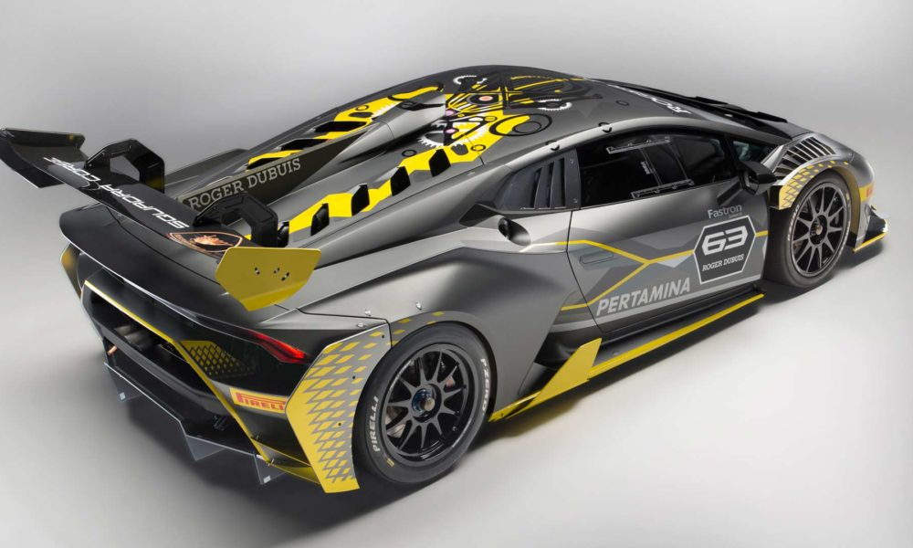 huracan super trofeo evo debuts with roger dubuis partnership autodevot. Black Bedroom Furniture Sets. Home Design Ideas