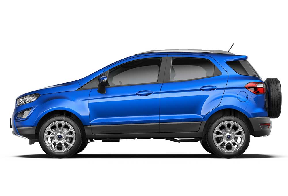 2017 Ford EcoSport facelift launched at Rs 7.31 lakh - Autodevot