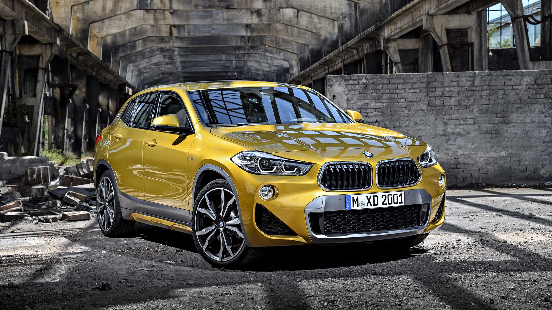 bmw x2 unveiled market launch in march 2018 autodevot. Black Bedroom Furniture Sets. Home Design Ideas