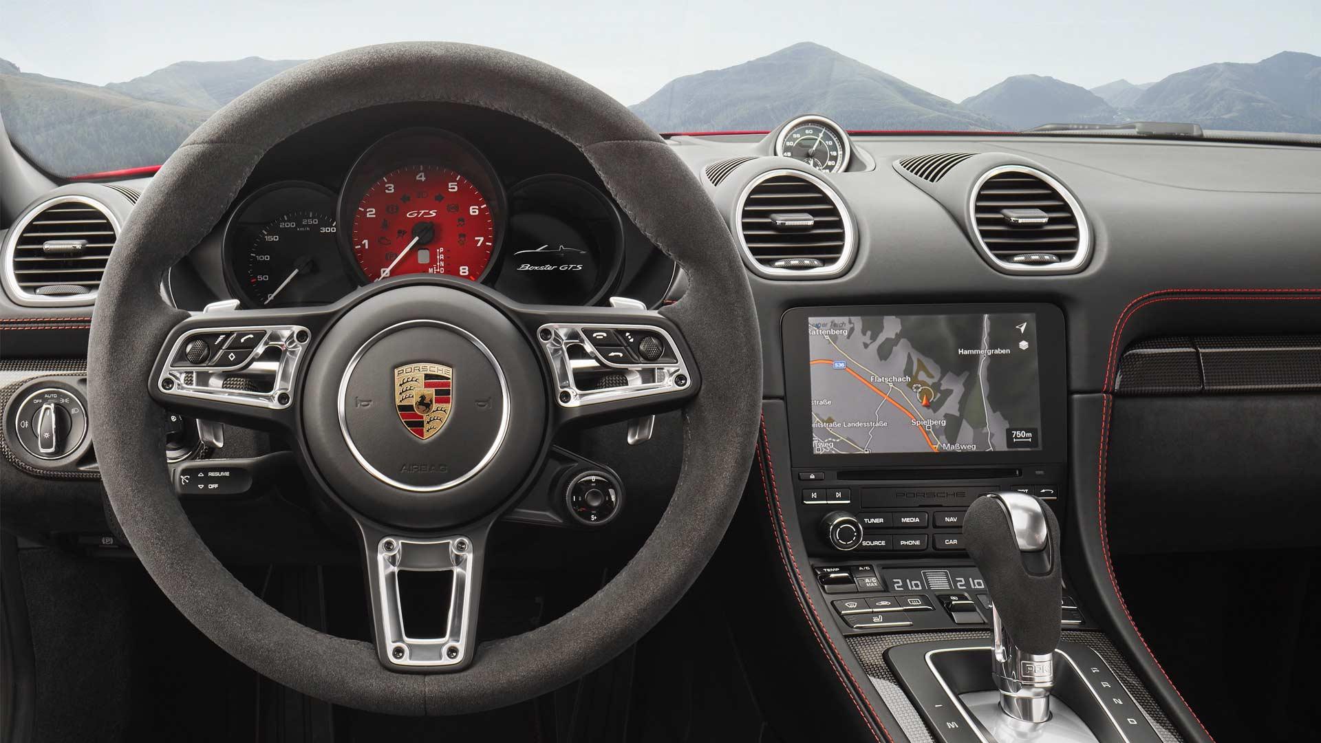 2018-New-Porsche-718-Cayman-GTS-718-Boxster-GTS-interior