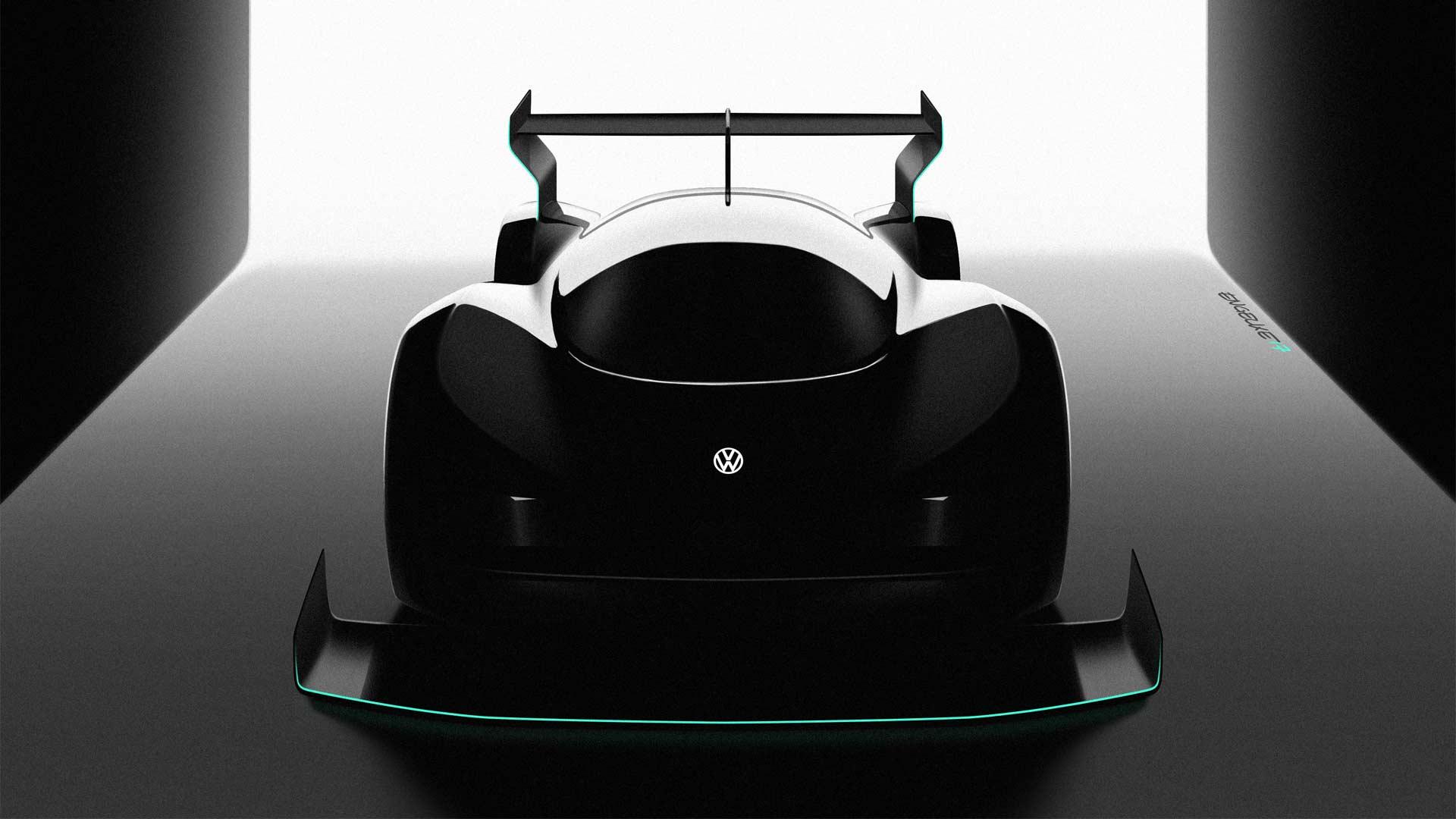 Volkswagen-develops-electric-race-car Pikes Peak