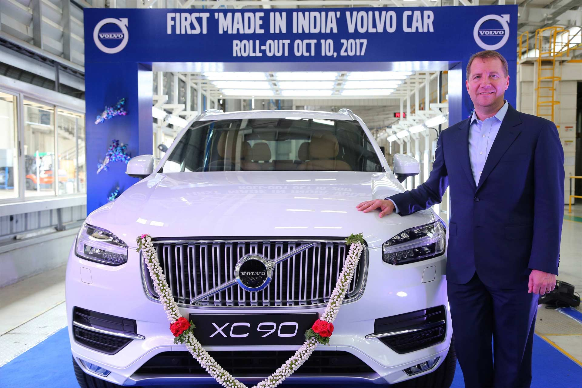 Volvo-XC90-Bengaluru-assembly