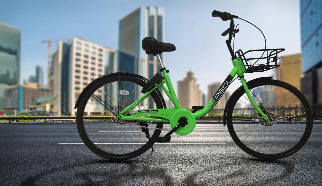 Zoomcar-PEDL-cycle-sharing