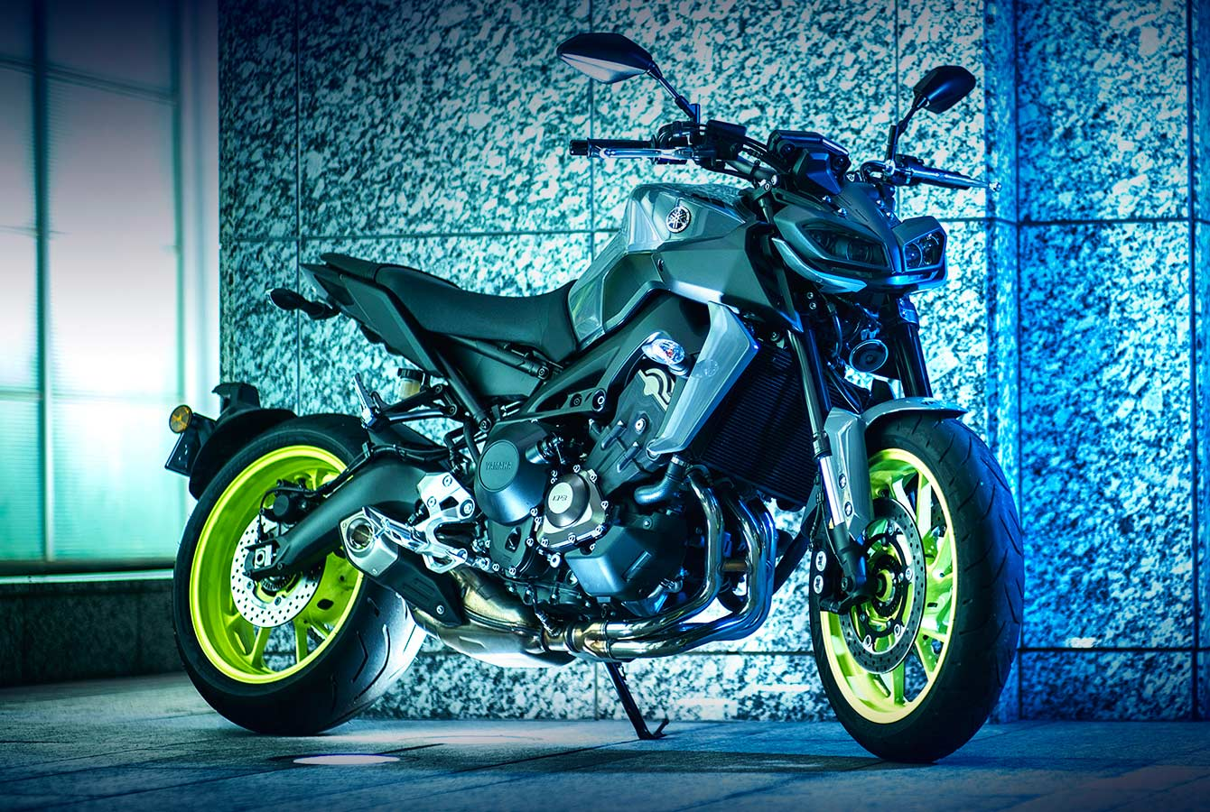new yamaha mt 09 launched at rs lakh autodevot. Black Bedroom Furniture Sets. Home Design Ideas