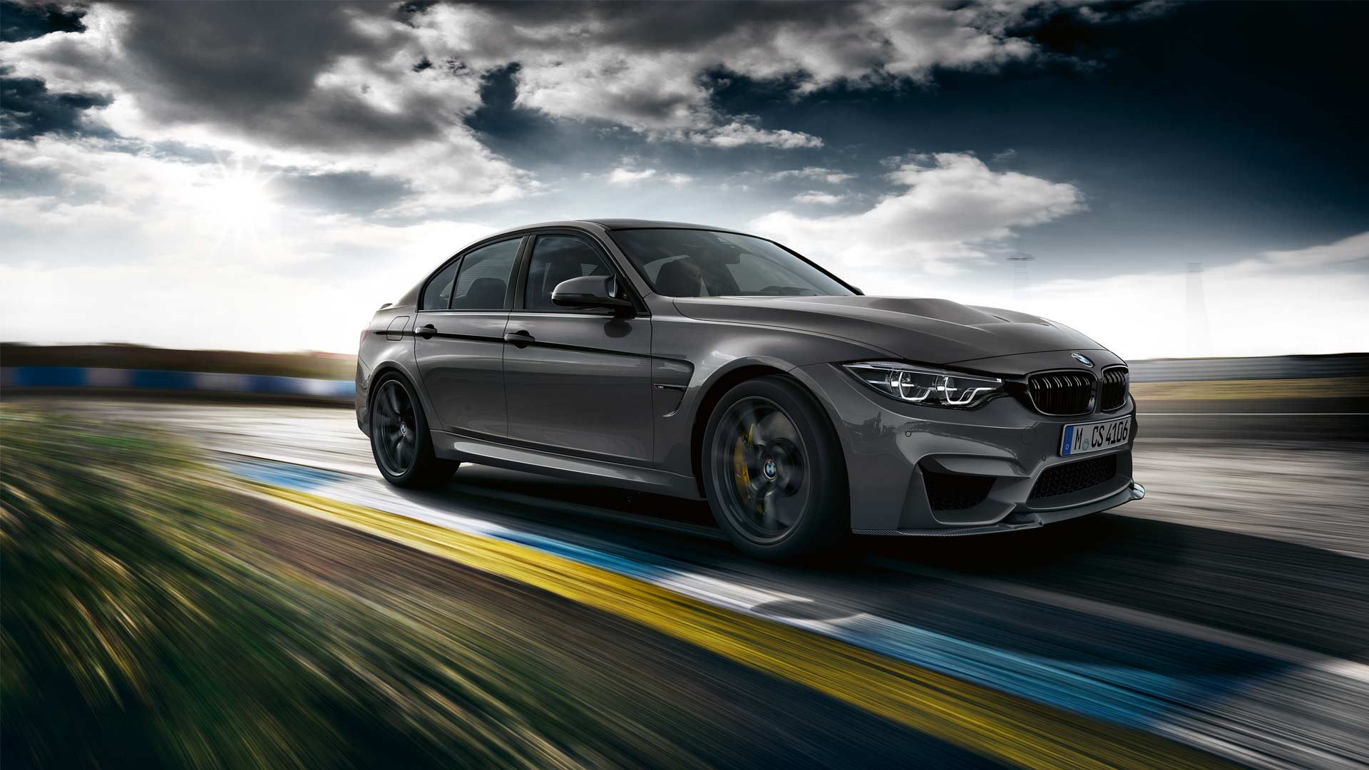 new bmw m3 cs unveiled with more horses autodevot. Black Bedroom Furniture Sets. Home Design Ideas