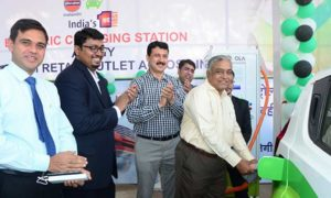 IndianOil-electric-vehicle-charging-station-Nagpur