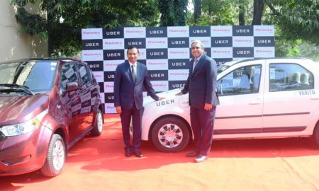 Mahindra-and-Uber-Electric-Vehicles
