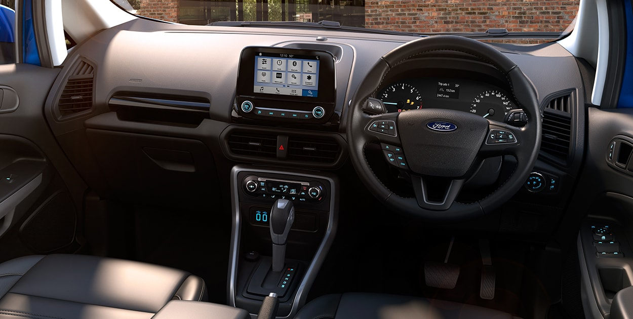 New-Ford-EcoSport-facelift-interior-2017