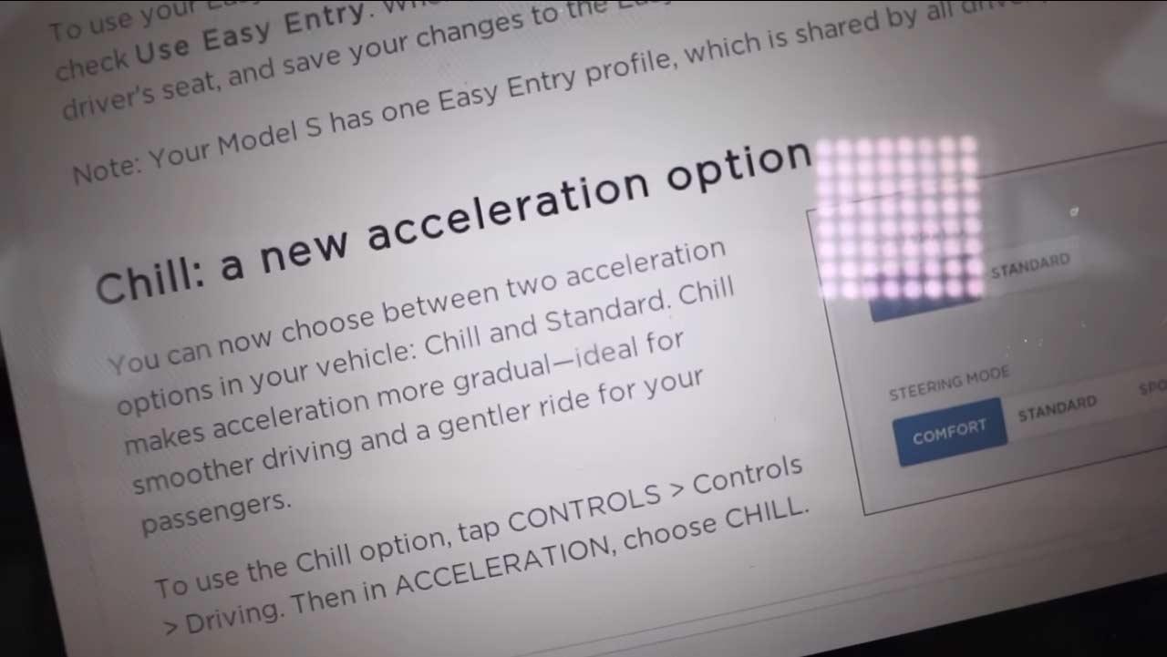 Tesla-Chill-Mode