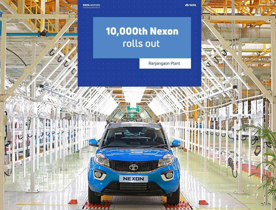 10,000th-Tata-Nexon