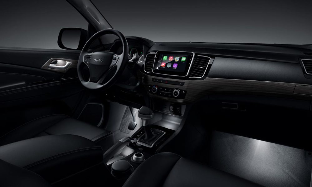 2018-Isuzu-MU-X-facelift-China-interior